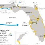 East Coast And Gulf Coast Transportation Fuels Markets   Energy   Natural Gas Availability Map Florida