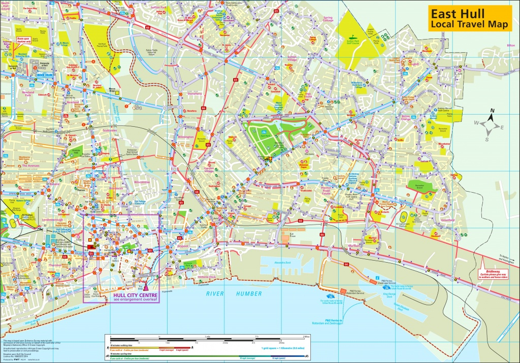 East Hull Travel Map - Hull Texas Map