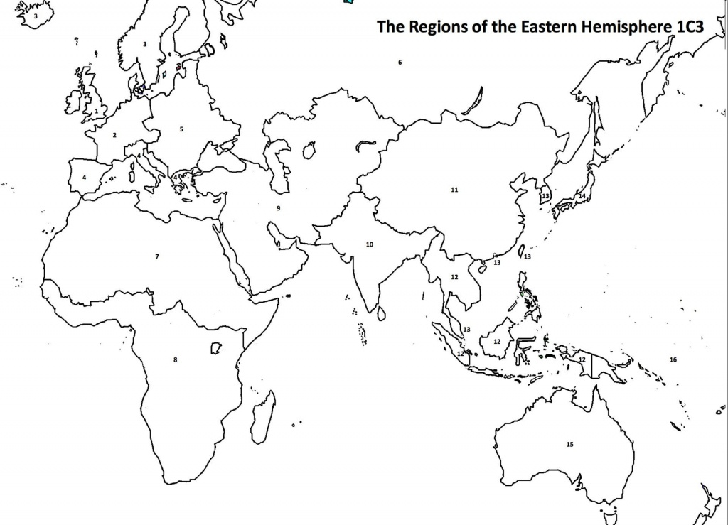 Eastern Hemisphere | Homeschool | China Map, Map, Social Studies - Eastern Hemisphere Map Printable