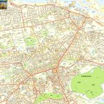 Edinburgh Offline Street Map, Including Edinburgh Castle, Royal Mile   Edinburgh Street Map Printable
