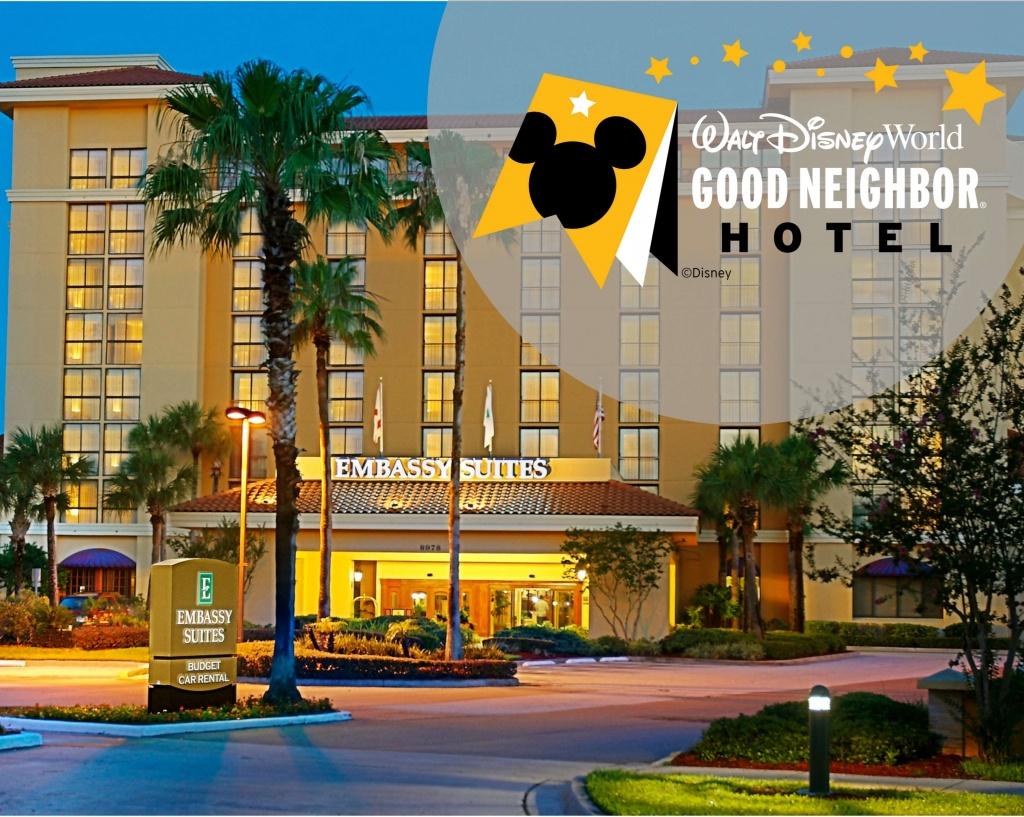 Embassy Suiteshilton Orlando International Drive Convention - Embassy Suites In Florida Map