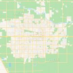 Empty Vector Map Of Visalia, California, Usa | Hebstreits Sketches   Visalia California Map