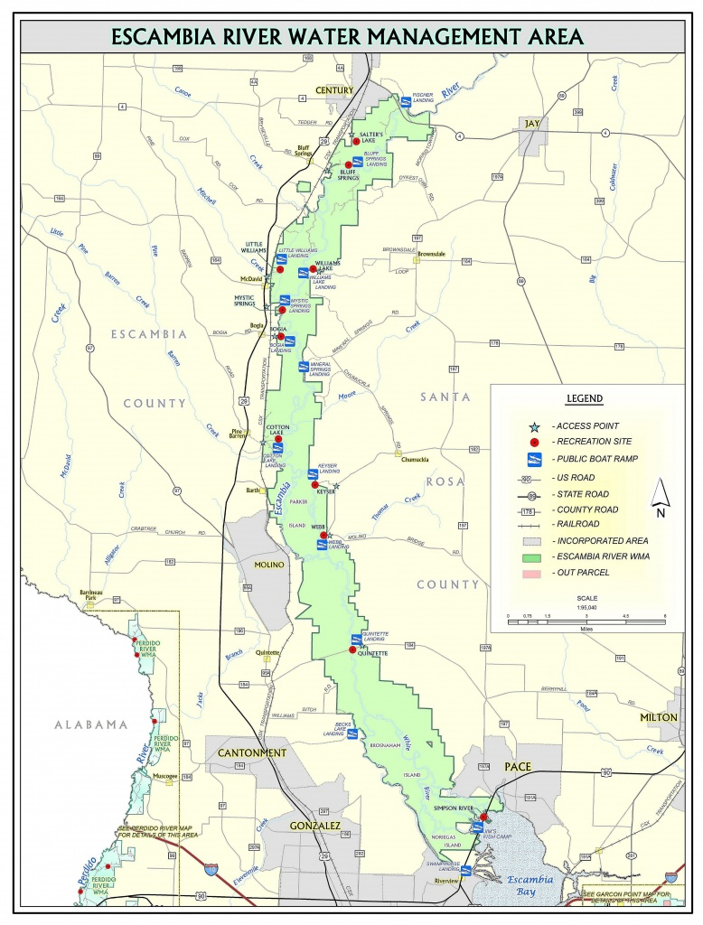 Escambia River | Northwest Florida Water Management District - Northwest Florida Water Management District Map