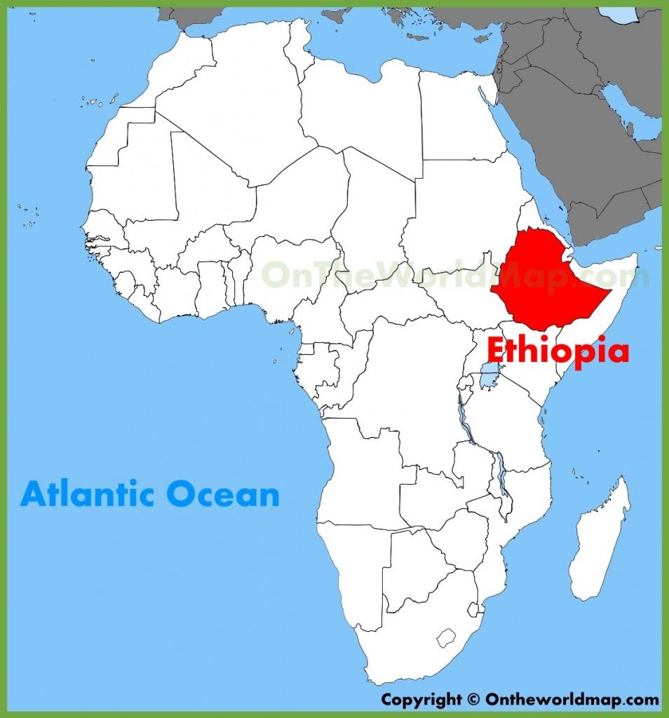 Ethiopia Maps   Maps Of Ethiopia - Printable Map Of Ethiopia