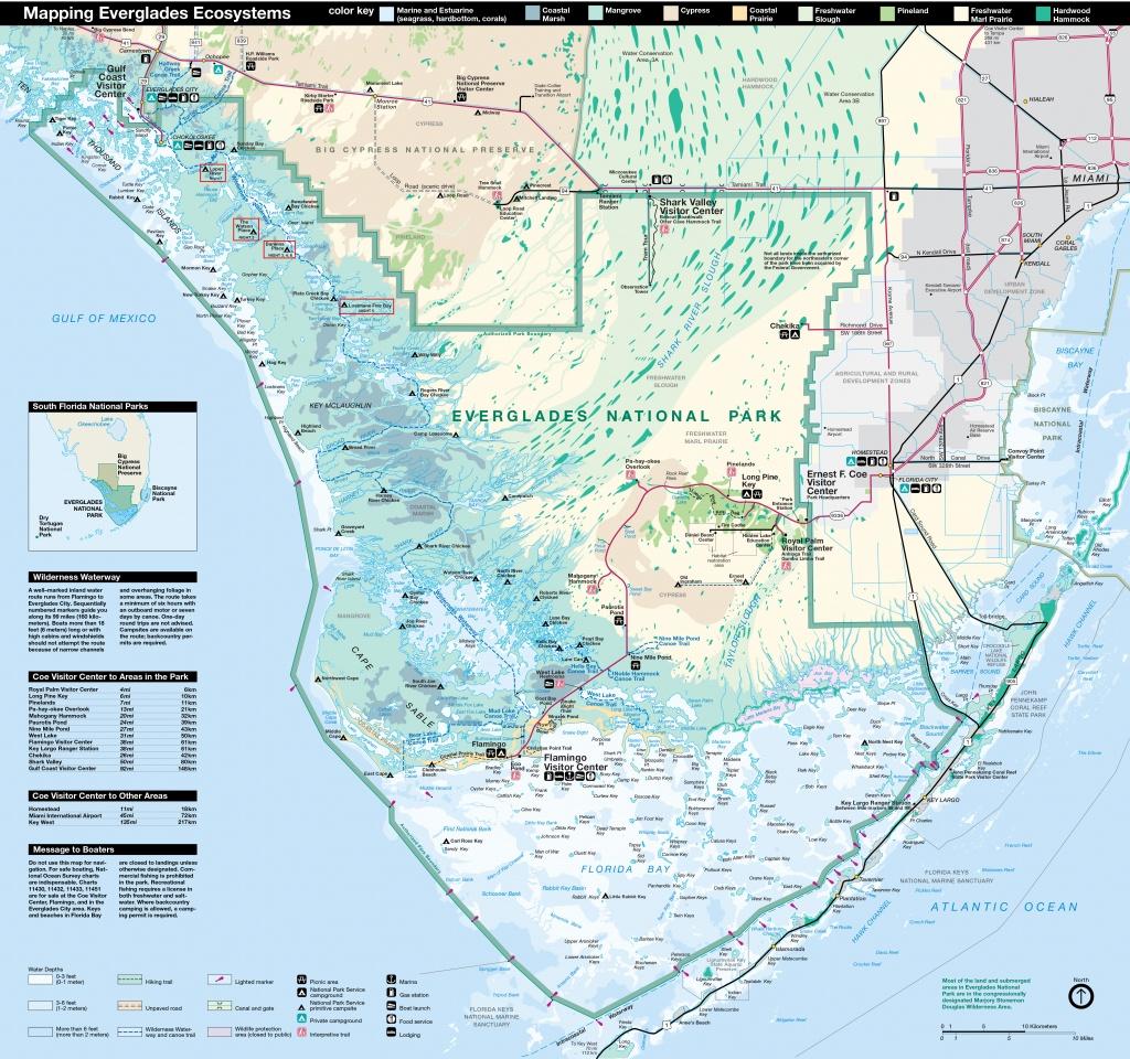 Everglades National Park | Park Map | - National Parks In Florida Map