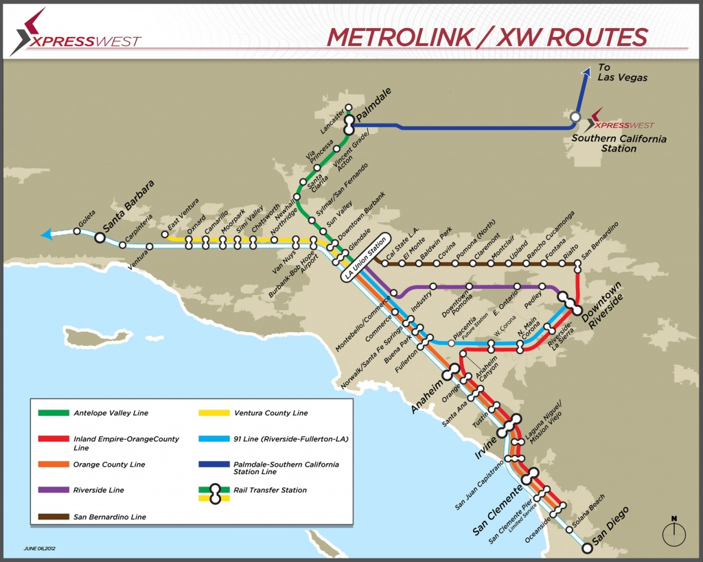 Expansion • Xpresswest Website - Southern California Metrolink Map