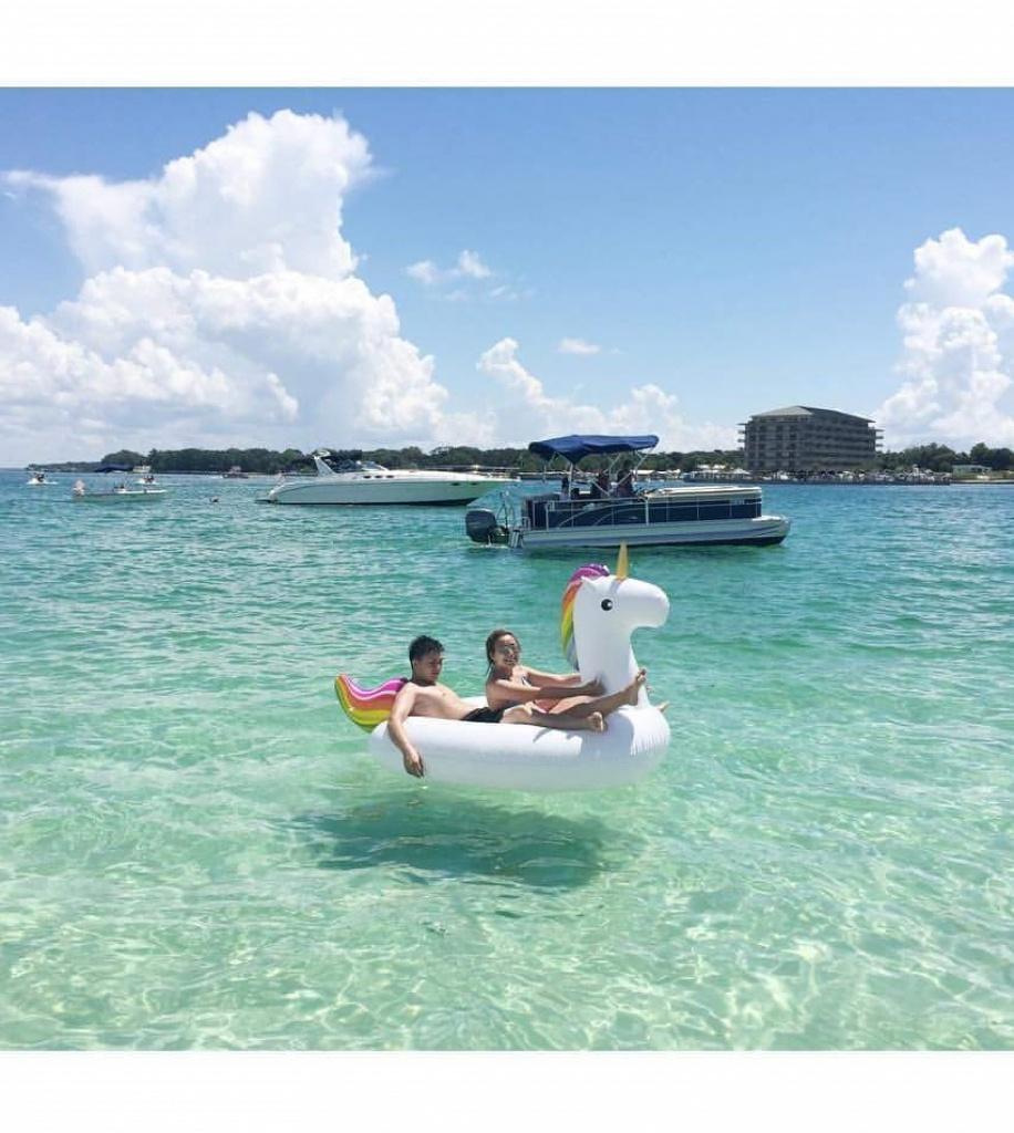 Explore Crab Island - Dockside Watersports - Crab Island Destin Florida Map