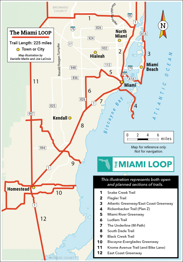 Explore The Loop   Miami Loop   Rails-To-Trails Conservancy - Florida Rails To Trails Maps