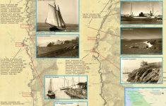 California Shipwreck Map