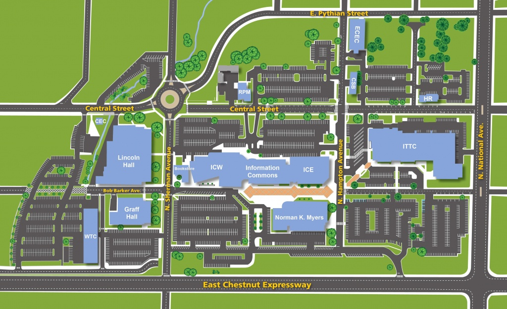 Facility Review - South Texas College Mid Valley Campus Map