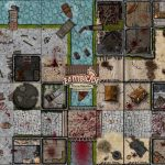 Fan Made Zombicide Game Tiles, Maps And The Scenarios To Play Them   Star Wars Miniatures Printable Maps