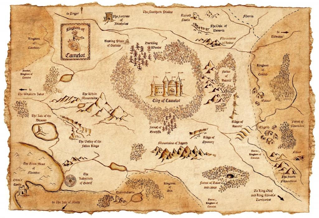 Fantasy Maps | The Stranger's Bookshelf - Printable Map Of Narnia
