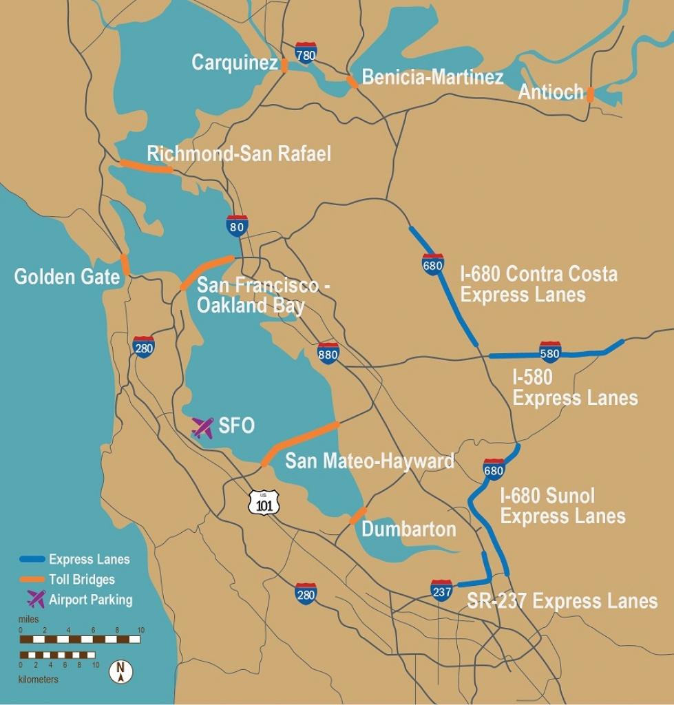 Fastrak - Fast Track Map California