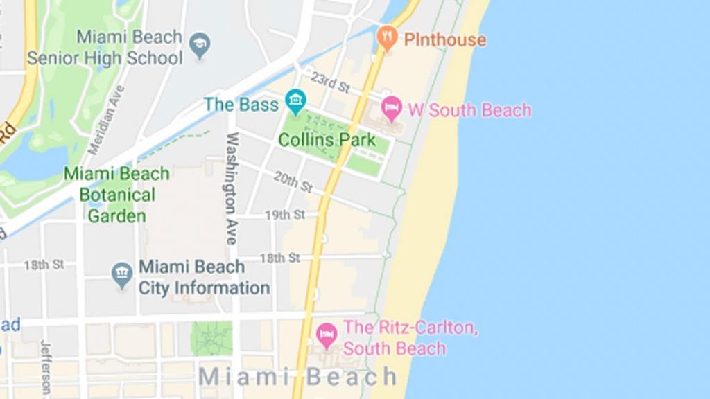 Fecal Bacteria Prompts Swim Advisory At Collins Park In Miami Beach - Florida Beach Bacteria Map 2018