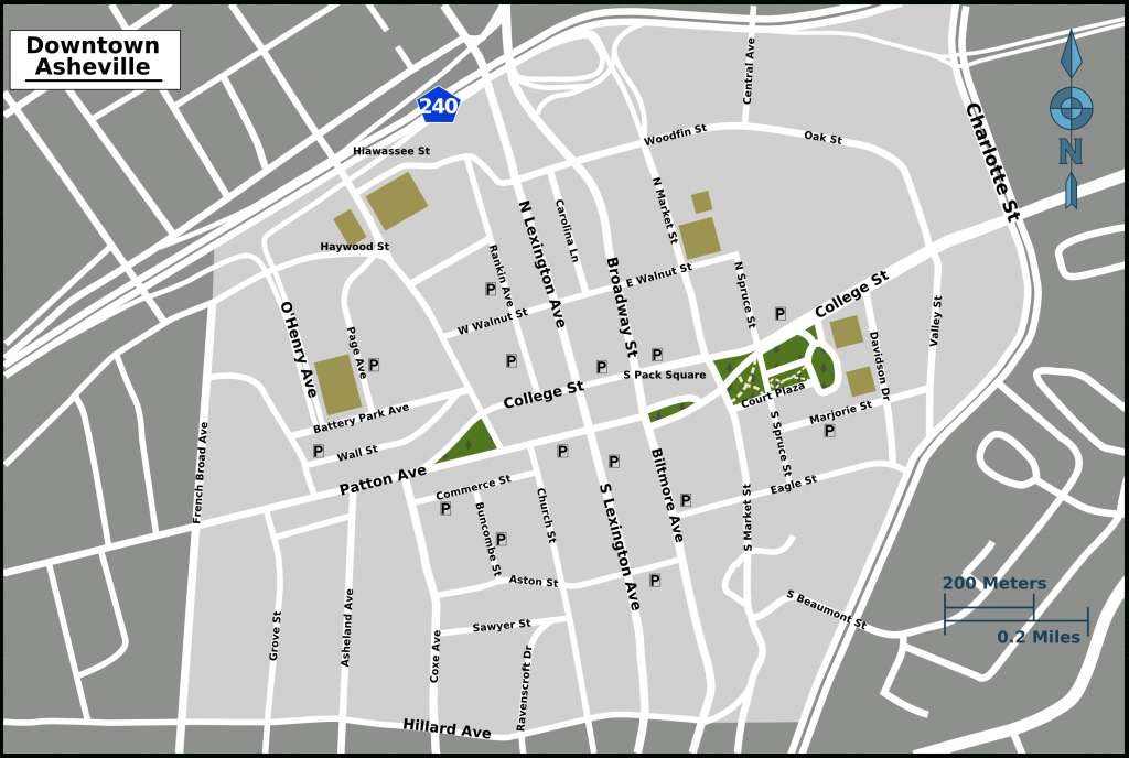 File:asheville Downtown Map - Wikimedia Commons - Printable Map Of Downtown Asheville Nc