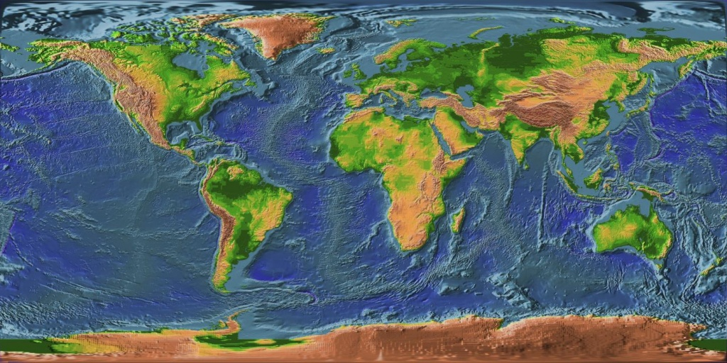 File:earth Topographic Map - Wikimedia Commons - Topographic World Map Printable