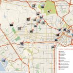 File:los Angeles Printable Tourist Attractions Map   Wikimedia   Map Of Los Angeles California Attractions
