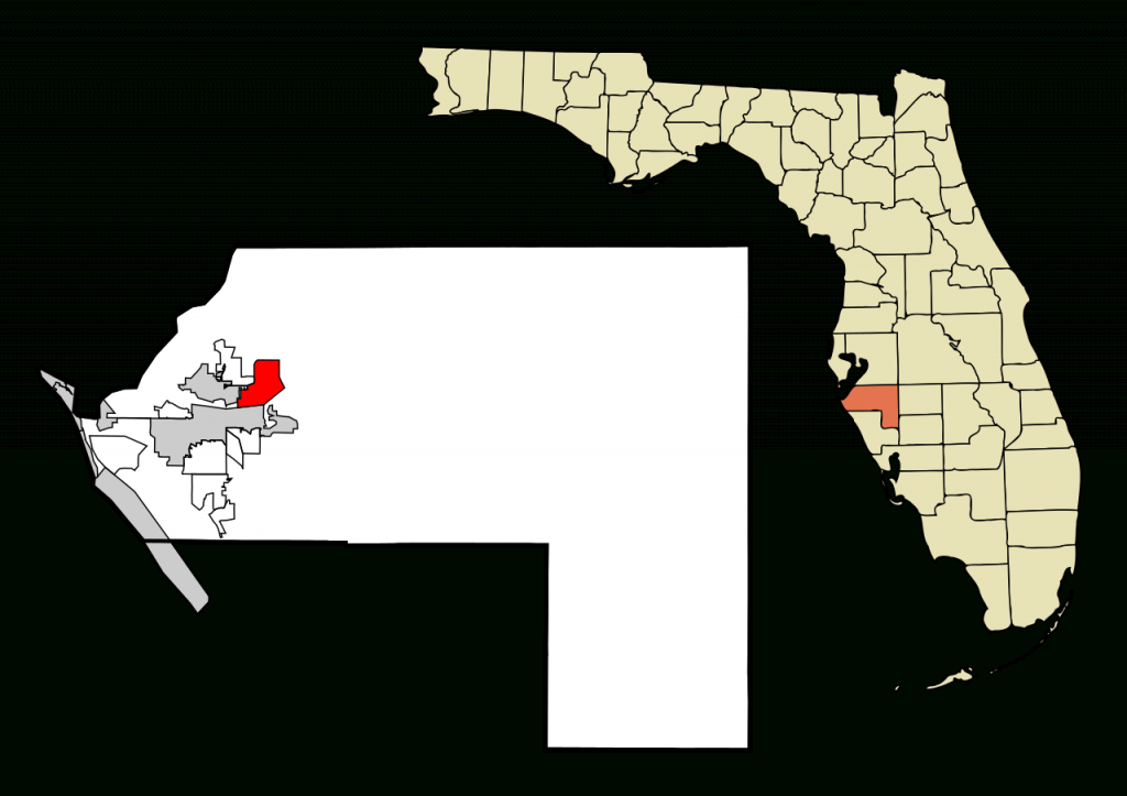 File:manatee County Florida Incorporated And Unincorporated Areas - Ellenton Florida Map