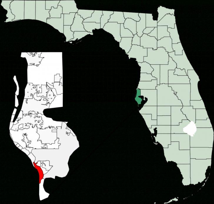 St Pete Beach Florida Map