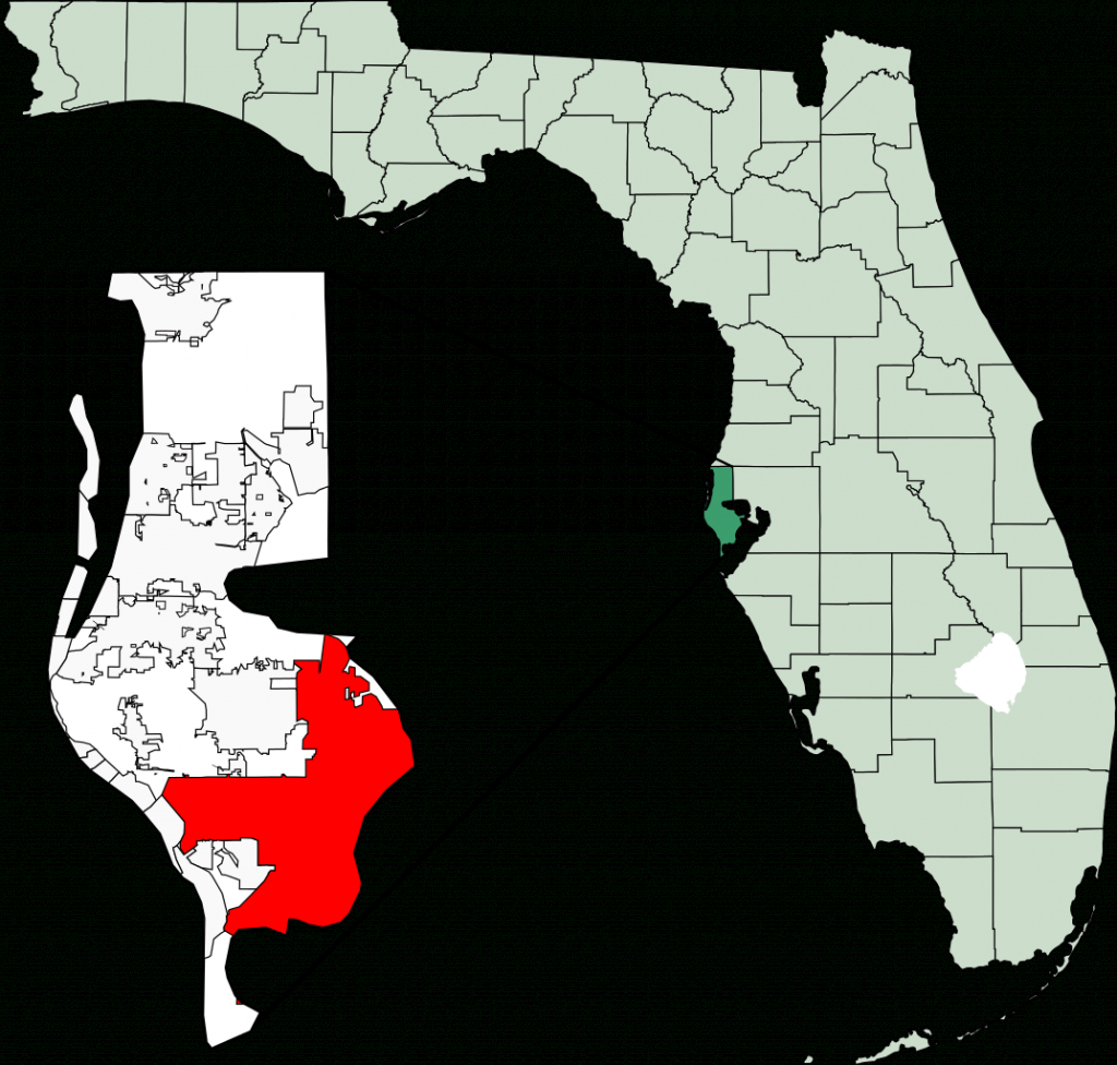 File:map Of Florida Highlighting St Petersburg.svg - Wikimedia Commons - St Pete Florida Map