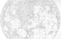 File:walter Goodacre's Map Of The Moon (1910) – Wikimedia Commons – Printable Moon Map