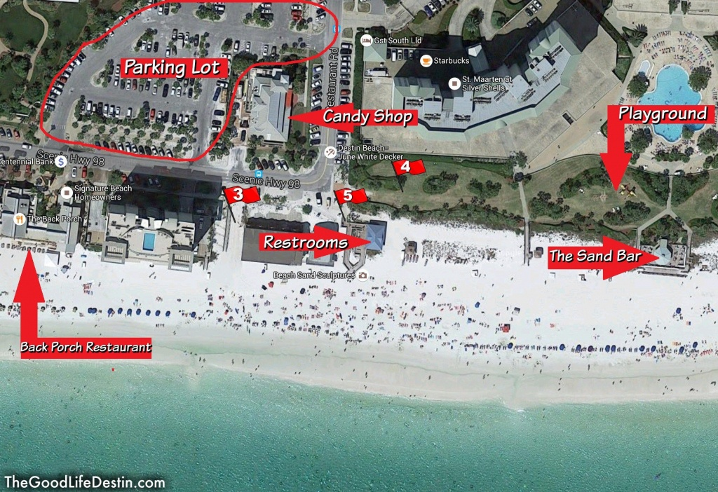 Find Your Perfect Beach In Destin Florida   Fyi   Destin Florida - Map Of Destin Florida And Surrounding Cities