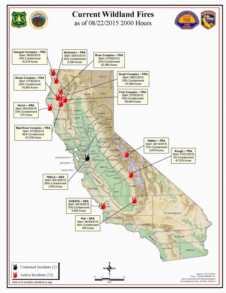 Fire Map California Fires Current Southern California Wildfire Map - California Active Wildfire Map