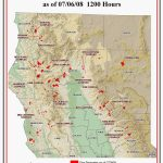 Fires Oregon Map Map Of Current Fires In Northern California   Where Are The Fires In California Right Now Map
