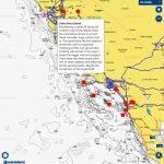 Fishing Hot Spots Chart | Navionics Boating   Bdoutdoors   Southern California Fishing Spots Map