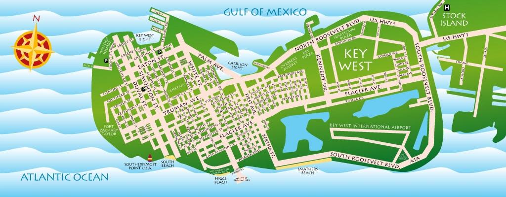 Fl. Keys Maps | Key West / Florida Keys Discount Coupons - Google Maps Key West Florida