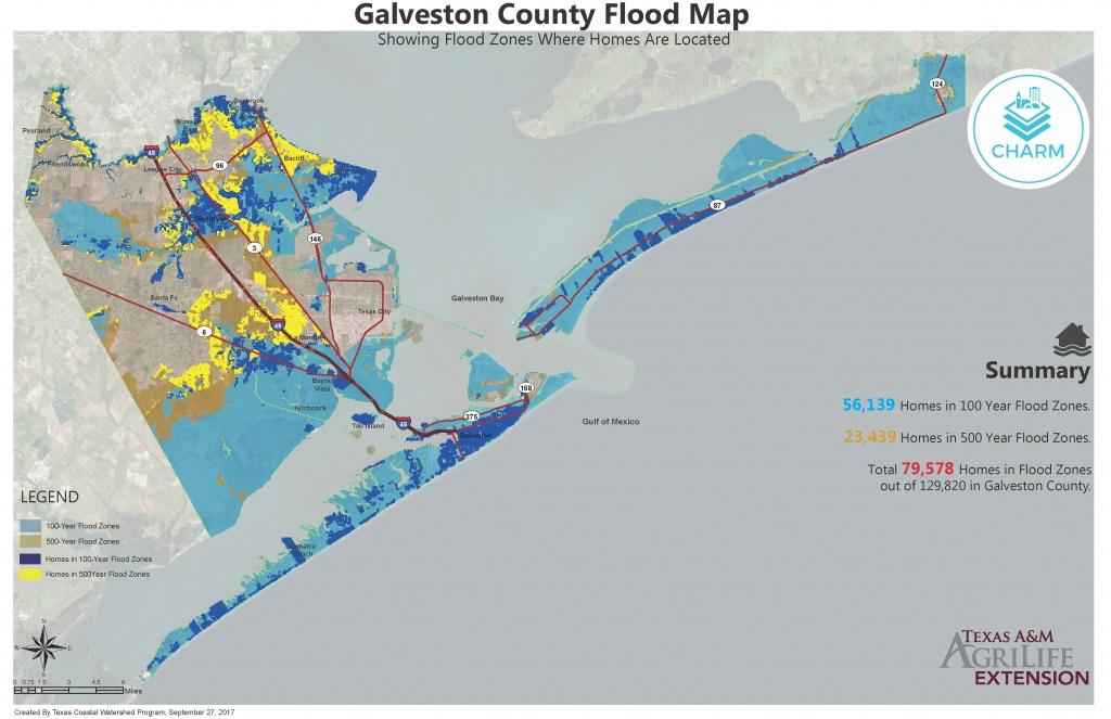Flood Zone Maps For Coastal Counties   Texas Community Watershed - 100 Year Floodplain Map Texas