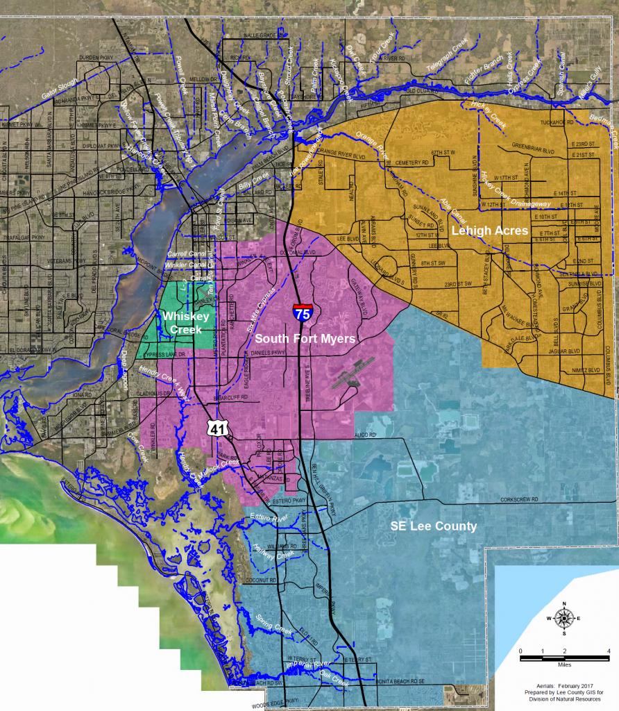 Flooding Information - Lee County Flood Zone Maps Florida