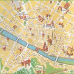 Florence City Centre Map   Florence City Map Printable