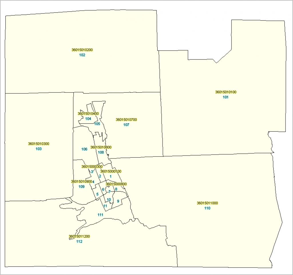 Florida Census Tract Demographic Characteristics - Florida Census Tract Map
