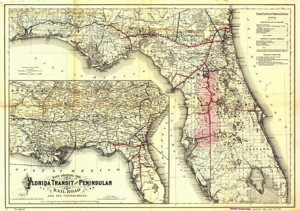 Florida Central And Peninsular Railroad - Wikipedia - Yulee Florida Map
