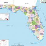 Florida County Map, Florida Counties, Counties In Florida   Google Maps Stuart Florida
