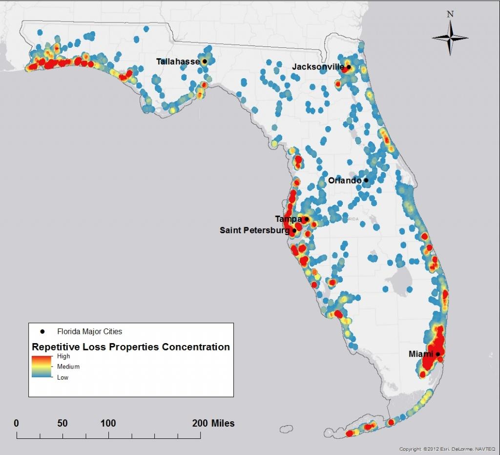 Florida Flood Risk Study Identifies Priorities For Property Buyouts - Flood Plain Map Florida