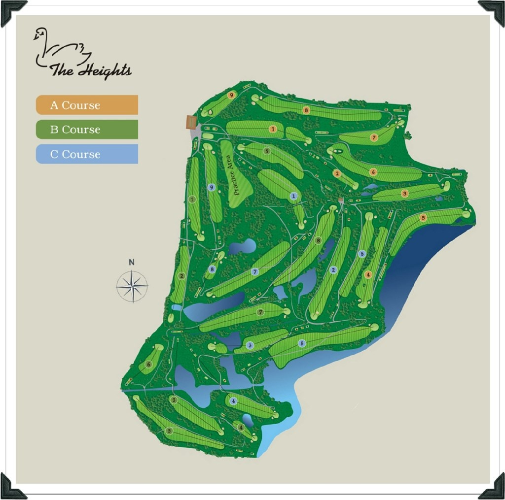 Florida Golf Courses Map And Travel Information   Download Free - Golf Courses In Naples Florida Map