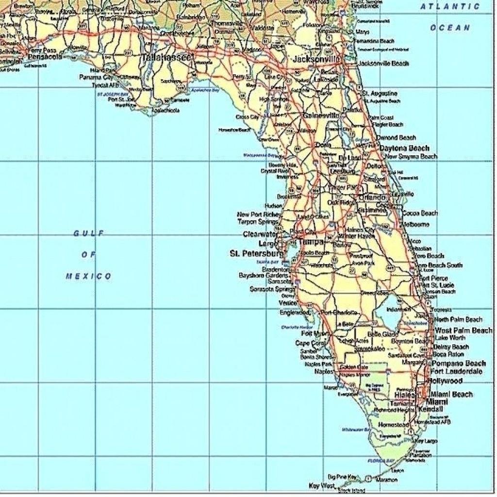 Florida Gulf Coast Beaches Map Map Of Florida West Coast Cities Map - Best Beaches Gulf Coast Florida Map