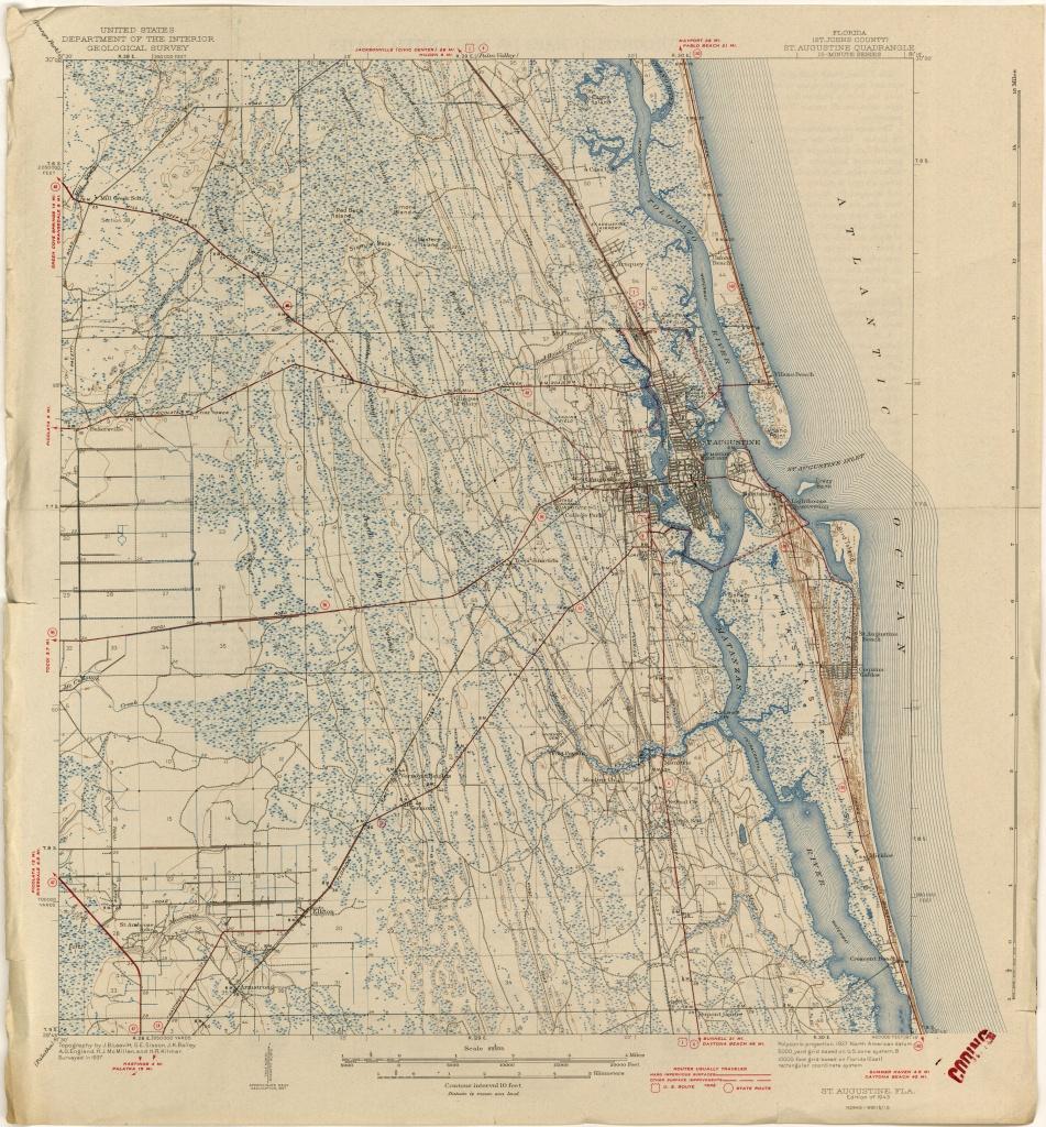 Florida Historical Topographic Maps - Perry-Castañeda Map Collection - Historic Florida Maps