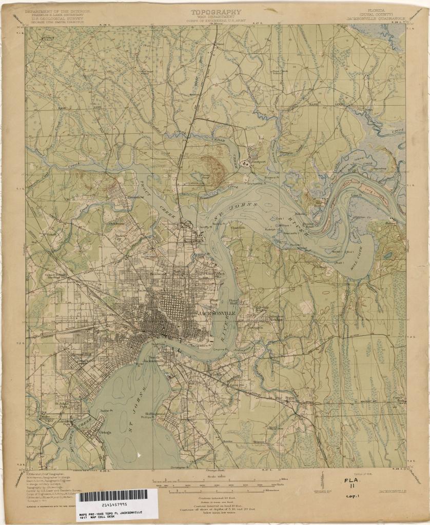 Florida Historical Topographic Maps - Perry-Castañeda Map Collection - Old Maps Of Pensacola Florida
