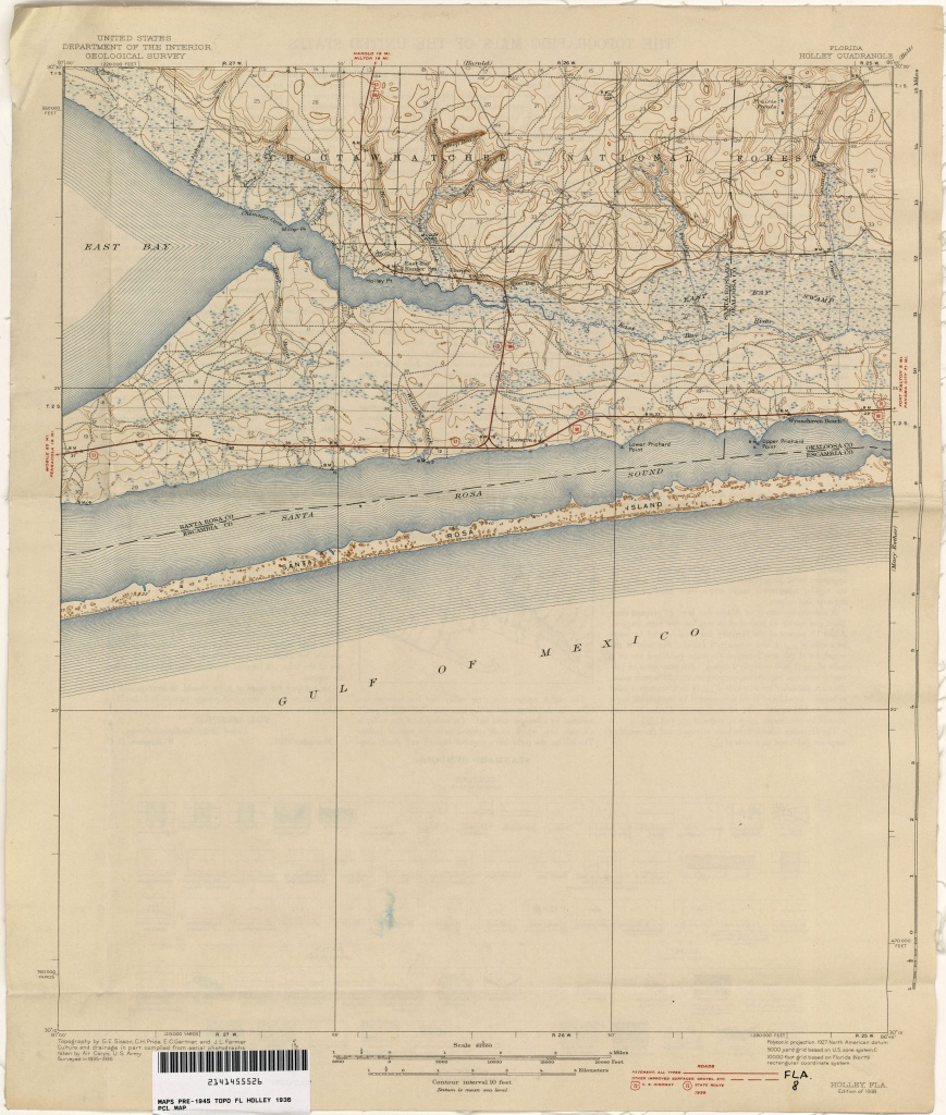 Florida Historical Topographic Maps - Perry-Castañeda Map Collection - Street Map Panama City Florida