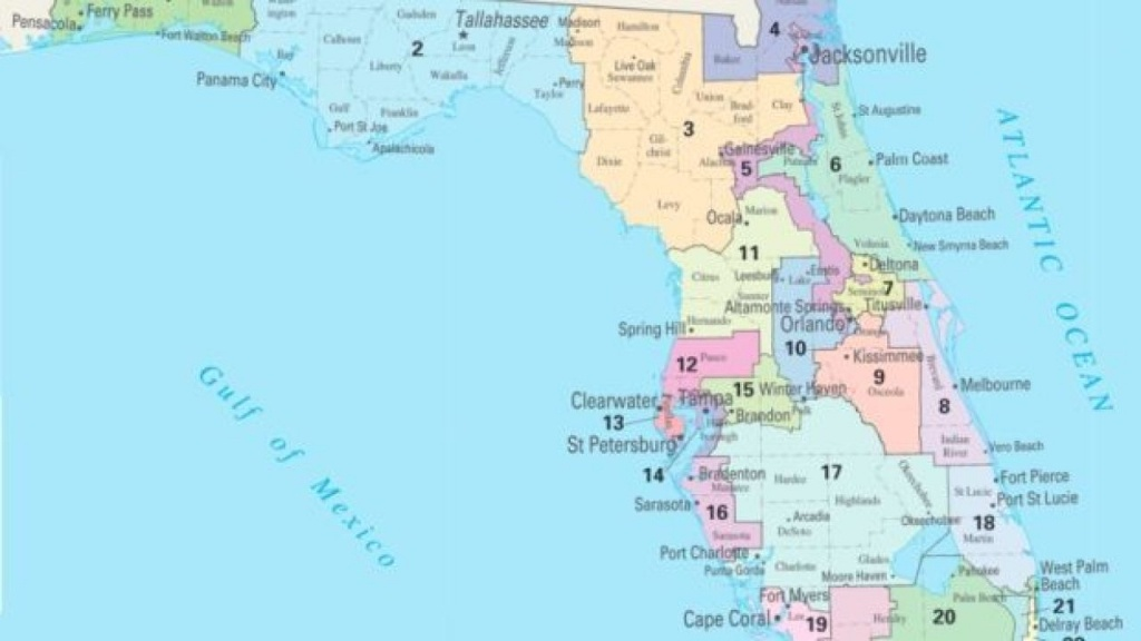Florida House Moves Ahead With Its Own Map - Florida District 6 Map