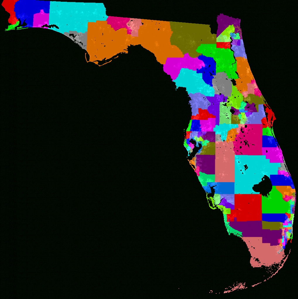 Florida House Of Representatives Redistricting - Florida Voting Districts Map