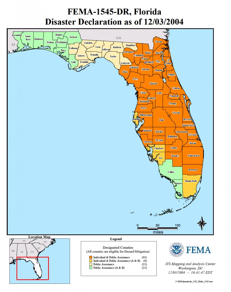 Florida Hurricane Frances (Dr-1545) | Fema.gov - Fema Flood Maps Indian River County Florida