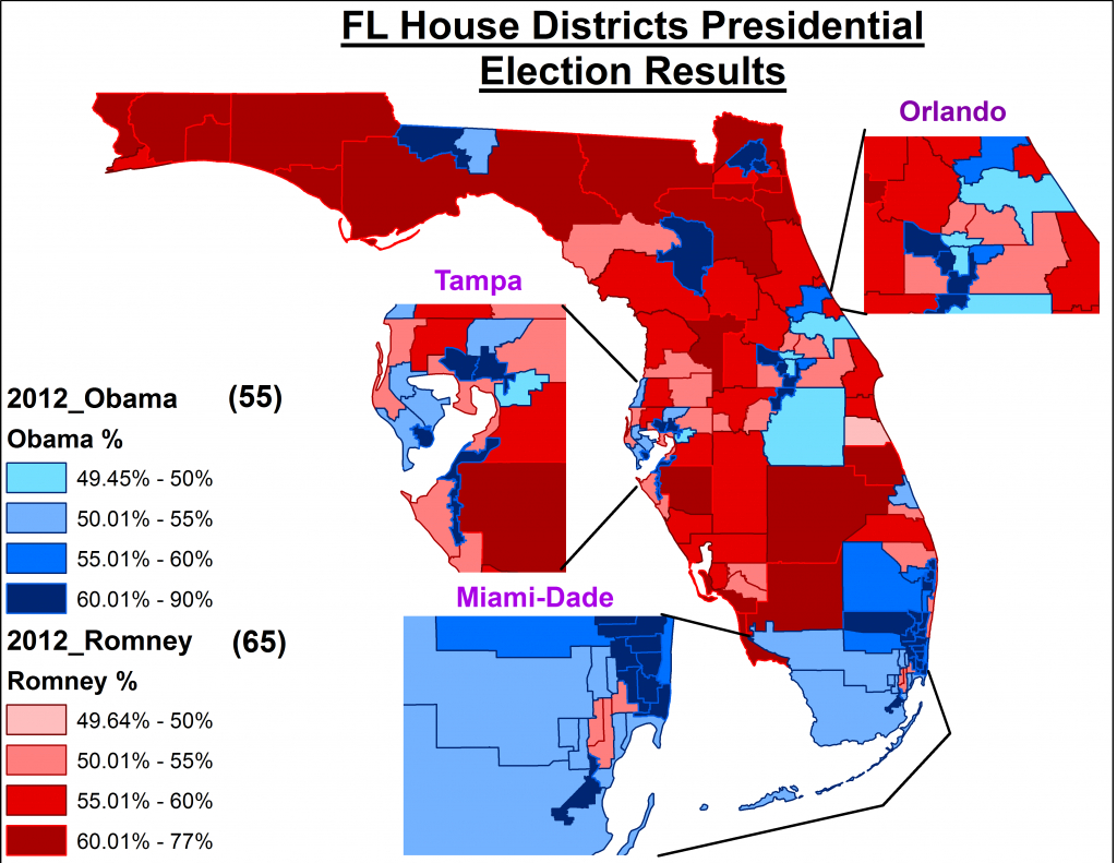 Florida Judge Orders New Congressional Map – Capitol Hill Blue - Florida Election Districts Map