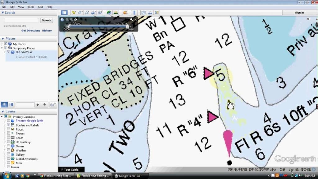 Florida Keys Fishing Spots For Key Largo, Islamorada, Marathon To - Florida Keys Fishing Map