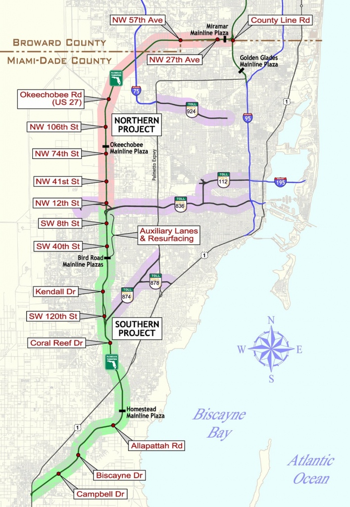 Florida Keys & Key West Travel Information - Florida Keys Highway Map