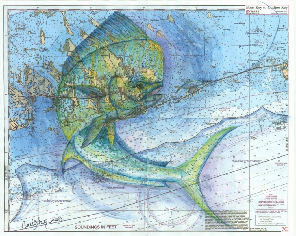 Florida Keys Mahi - Florida Keys Marine Map