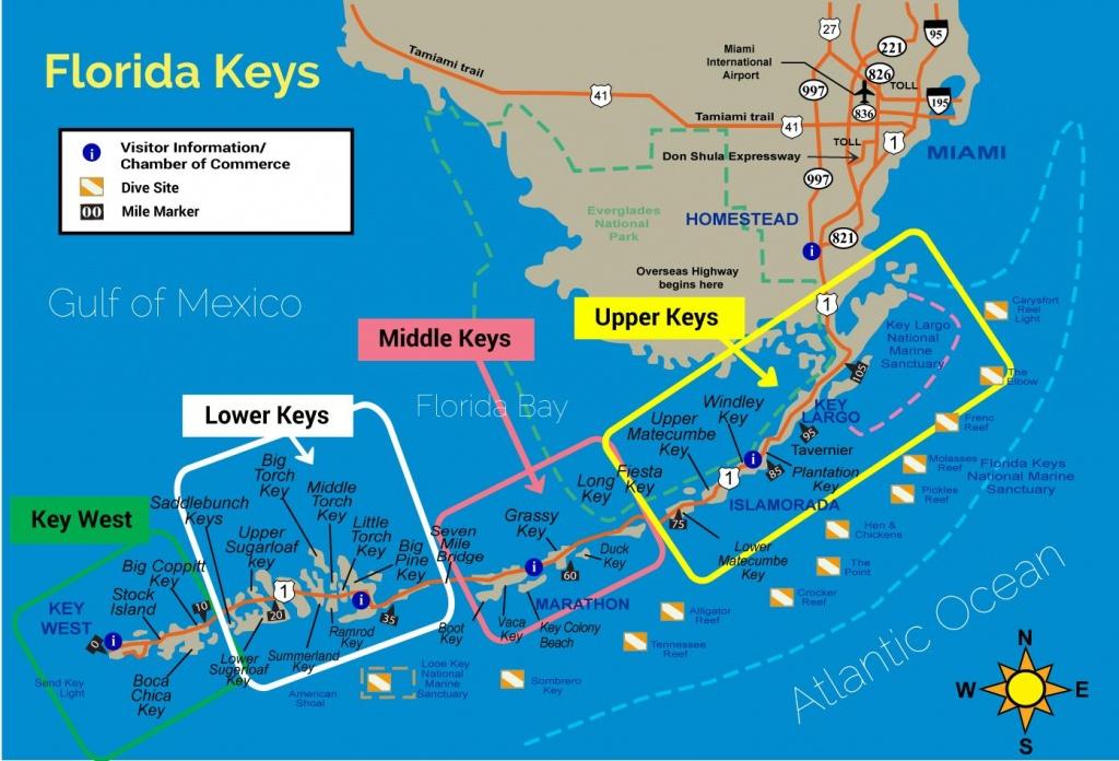 Florida Keys Map - Florida Keys Experience - Google Maps Key Largo Florida